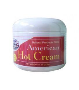 American Natural American Hot Cream 4 oz Excessive Body Fat