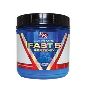 VPX (Vital Pharmaceuticals) - Fast 5 Peptidex Blue Razz, , 8.06 oz powder