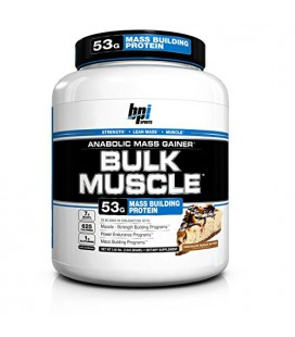 BPI Bulk Muscle Protein Powder, Chocolate Peanut Butter, 5.82 Pound