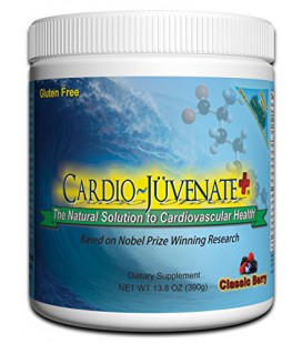 Cardio~Juvenate+ Classic Berry Cardio Health Formula: Nitric Oxide Supplement with 5000mg L-arginine, 1000mg L-citrulline, 1000