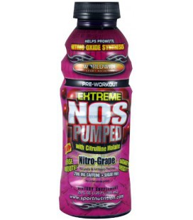 WWSN NOS Pumped, Grape, 12-Count