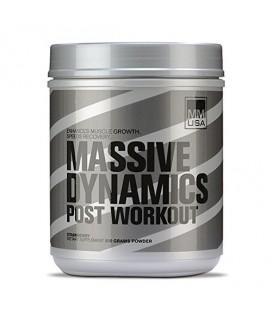 MMUSA Massive Dynamics Post-Workout Diet Supplement poudre, Fraise, 800 Gram
