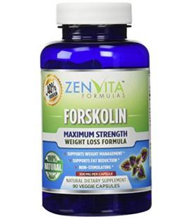 Forskoline pure avec 40% d'extrait normalisé, 300 mg, 90 capsules