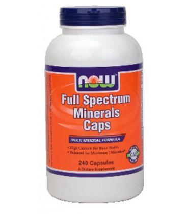 Now Foods Full Spectrum Mineral, 240 caps ( Multi-Pack)