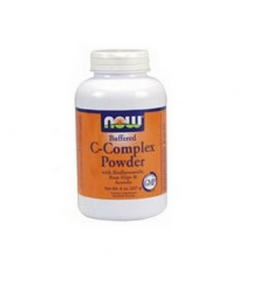 NOW Foods Vitamin C-complex, 8 Ounces (Pack of 2)