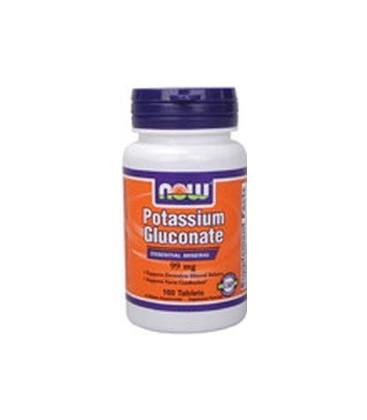 Potassium Gluconate - 100 tabs,(Now Foods)