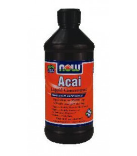 NOW Foods Acai Liquid Concentrate, 16-Ounce ( Multi-Pack)