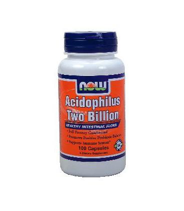 Now Foods Acidophilus Two Billion - 100 Caps ( Multi-Pack)