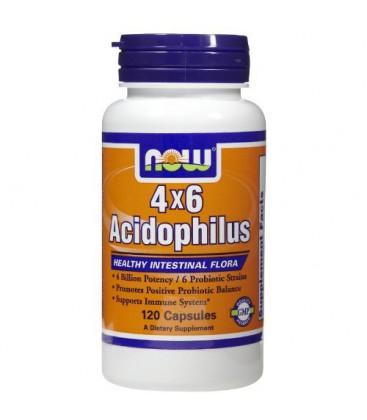 Now Foods Acidophilus, 120 caps (Pack of 2)