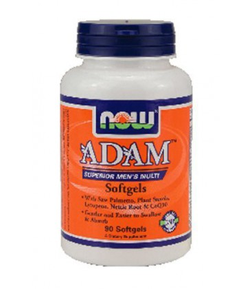 NOW Foods Adam Superoir Men's Multi, 90-Softgels ( Multi-Pack)