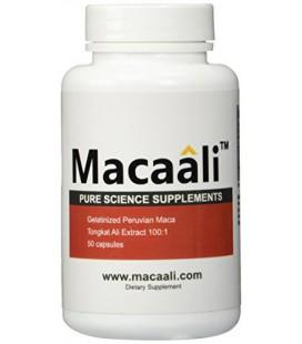 Macaali - Maca avec extrait Tongkat Ali - All Natural aphrodisiaque homme formule combinant la racine de Maca Poudre et Tongkat