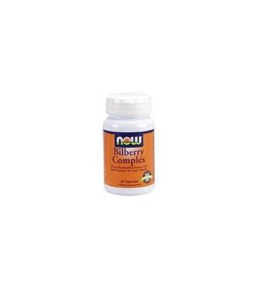Now Foods Bilberry Complex with Beta Carotene, 100 caps ( Multi-Pack)