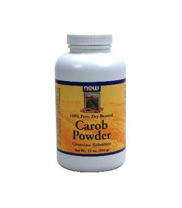 Now Foods Carob Powder Roasted - 12 oz. ( Multi-Pack)
