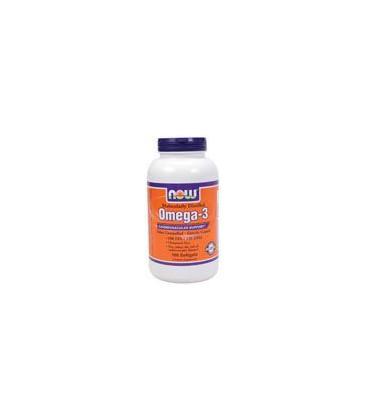 Now Foods Molec-distilled Omega-3 Soft-gels, 180-Count