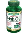 Nature's Bounty Fish Oil 1200 Mg. Double Strength Odorless s