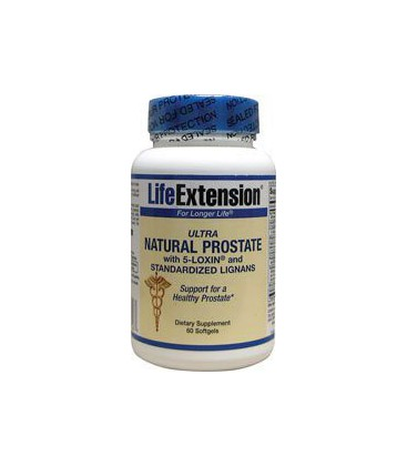 Life Extension Ultra Natural Prostate, Softgels, 60-Count