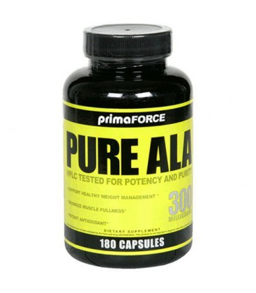 Prima Force Pure ALA, 300 Milligrams, 180 Capsules