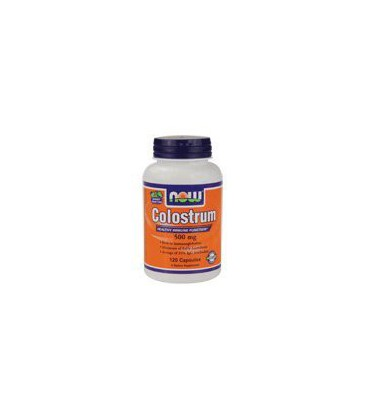 NOW Foods Colostrum 500 mg, 120 caps ( Multi-Pack)