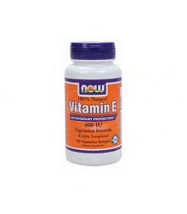 NOW Foods E-400, 100 Softgels (Pack of 2)