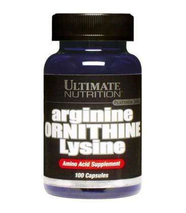Ultimate Nutrition Arginine Pyroglutamate Lysine Capsules, 7