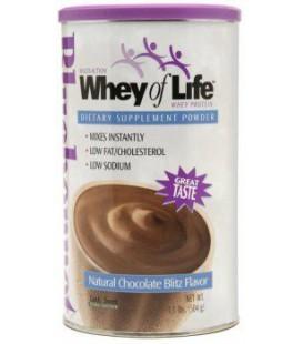Whey of Life Protein Powder Natural Vanilla Blast - 1.1lbs -