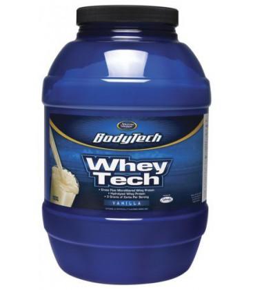 BodyTech - Whey Tech Vanilla, 5 lb powder