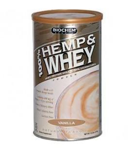 "Biochem 100% Hemp and Whey Powder ""vanilla"", 12.2-Ounce"