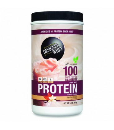 Designer Whey, Protein Powder, Vanilla Almond, Net Wt. 1.9 l