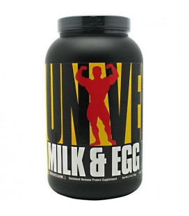 Universal Milk and Egg Enriched Protein Blend for Muscle Gro