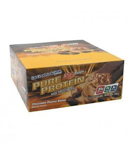 Worldwide Pure Protein High Protein Bar, Chocolate Peanut Bu