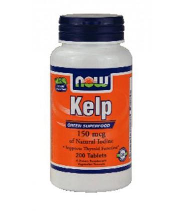 Now Foods Kelp 150 mcg - 200 Tabs ( Multi-Pack)