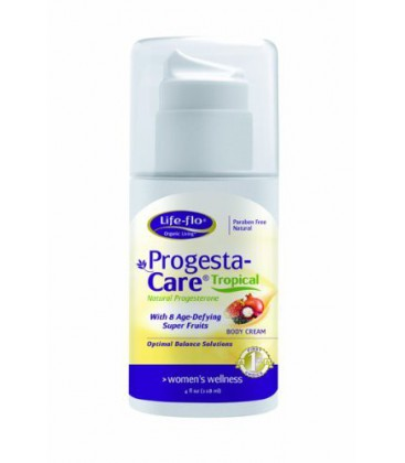 Life-Flo Progesta-Care, Tropical, 4-Ounce