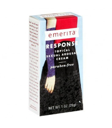 Emerita Response Topical Sexual Arousal Cream, 1-Ounce Bottl
