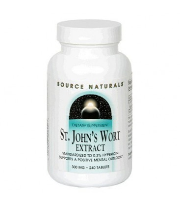 Source Naturals St. John's Wort 300mg, 240 Tablets