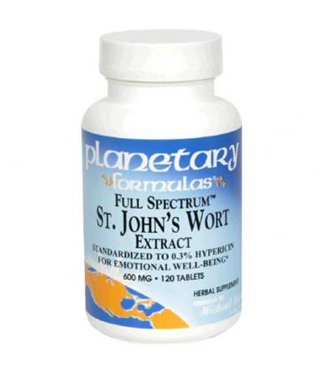 Planetary Formulas St. John's Wort Extract, Full Spectrum, 6