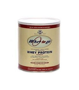 Whey To Go Protein Powder Natural Chocolate Cocoa Bean Flavo