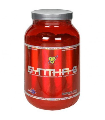 BSN Syntha-6 Protein Powder, Chocolate Milkshake, 2.91 Pound