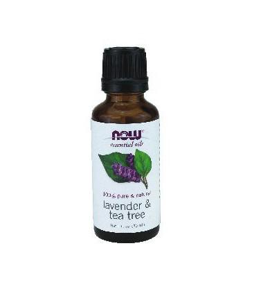 Now Foods Lavender - Tea Tree Oil - 1 oz. ( Multi-Pack)