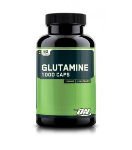 Optimum Nutrition Glutamine 1000mg, 60 Capsules (Pack of 2)