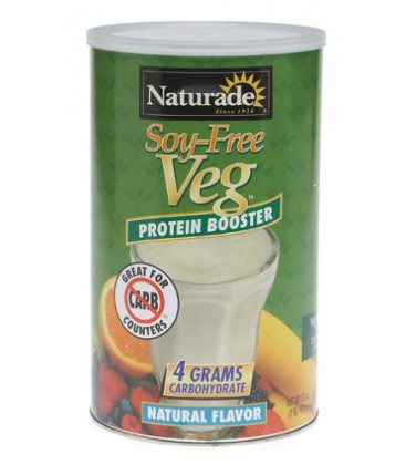 Naturade Soy-Free Veg Protein Booster, Natural Flavor, 32 Ou