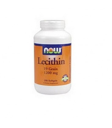 NOW Foods Lecithin, 200 Softgels (Pack of 2)