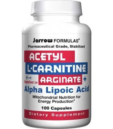 Jarrow Formulas Acetyl L-Carnitine Arginate (ALCA) and Alph