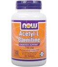 NOW Foods Acetyl L-Carnitine 750mg, 90 Tablets