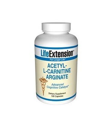 Life Extension Acetyl L-Carnitine Arginate, 100  Capsules