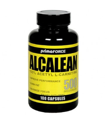 Primaforce Alcalean Acetyl L-Carnitine, 500 mg, 100-Vegetari