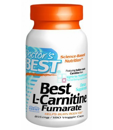 Doctor's Best Best L-Carnitine Fumarate Featuring Sigma Tau
