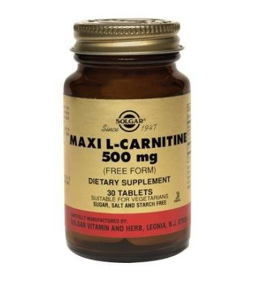 Maxi L-Carnitine 500mg - 60 - Tablet