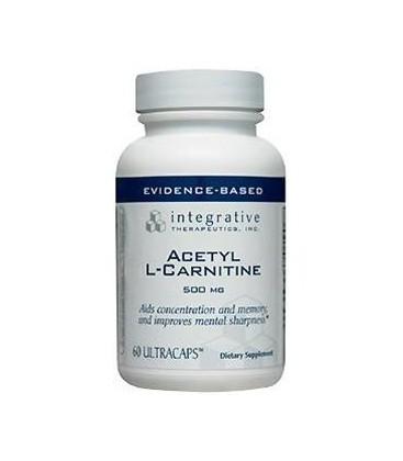Integrative Therapeutics Acetyl L-carnitine, 500 mg, 60 Cap