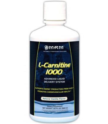 MRM L-Carnitine 1000, Natural Vanilla Flavor,32 ozs.