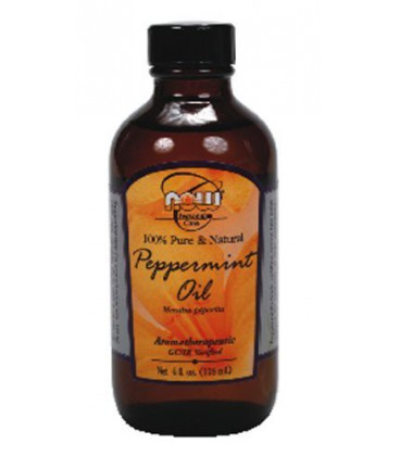 Now Foods Peppermint Oil, 4 oz ( Multi-Pack)